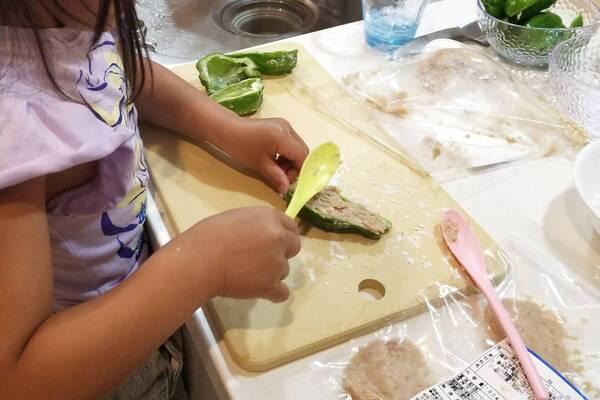 子どもと料理